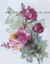 Heirloom Roses (Ruby)