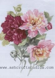 Peonies 8x10 or Vase